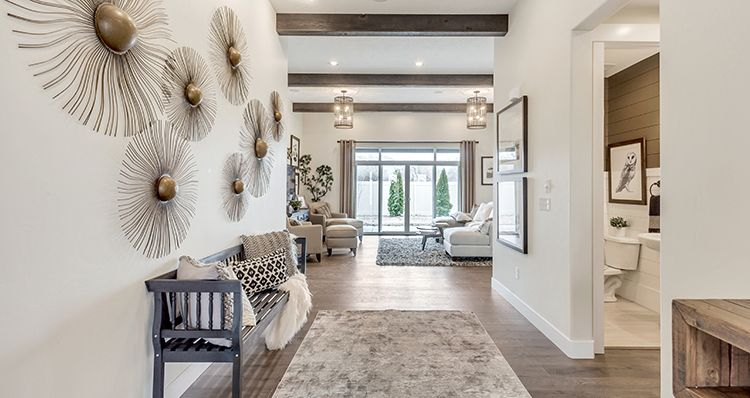 Living Area featured in the Lot 420 - Sagecre By Woodside Homes in Provo-Orem, UT