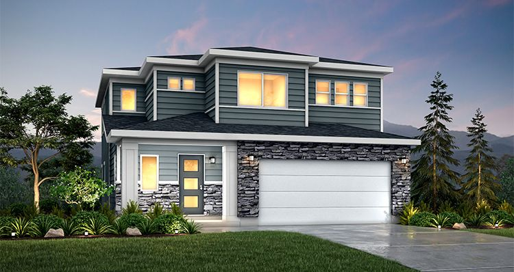 Exterior featured in the Sycamore - SLB By Woodside Homes in Salt Lake City-Ogden, UT