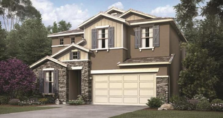 Elevation:Woodside Homes - Cascade 1060