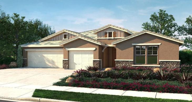 Elevation:Woodside Homes - Graciosa - Lot 6106