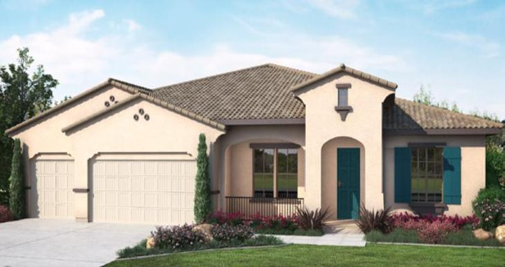 Elevation:Woodside Homes - Andalusia - Lot 7018