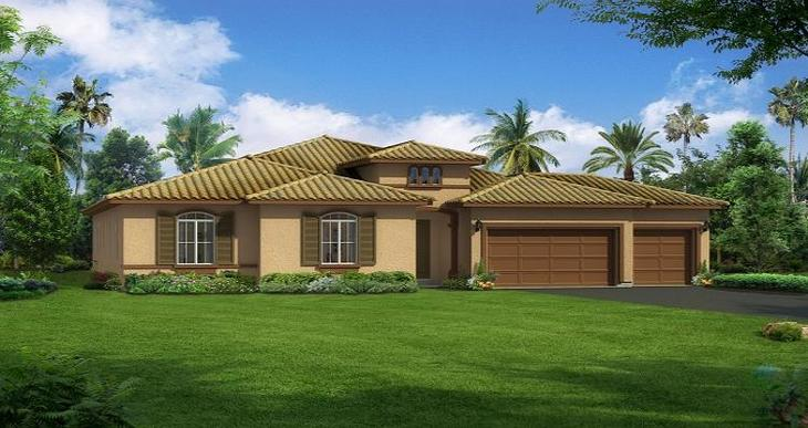 Elevation:Woodside Homes - Ponderosa