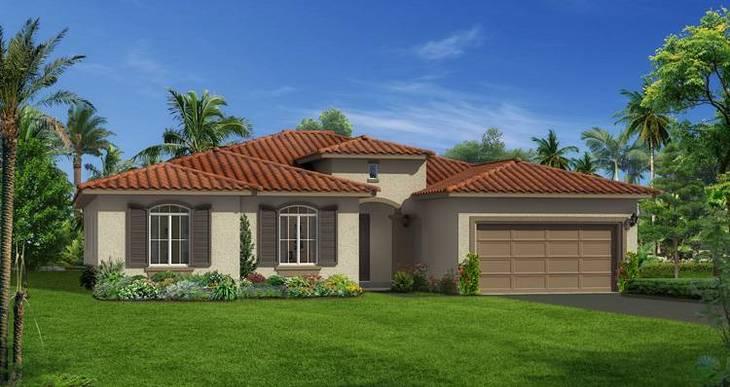 Elevation:Woodside Homes - Hillsdale
