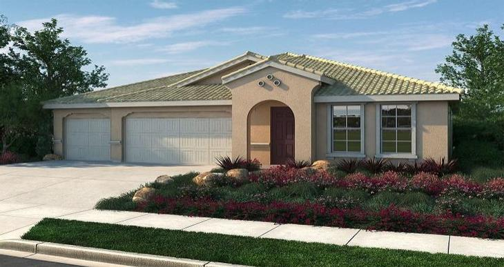 Elevation:Woodside Homes - Portofino