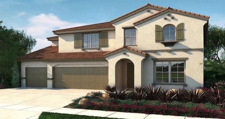Elevation:Woodside Homes - Alora