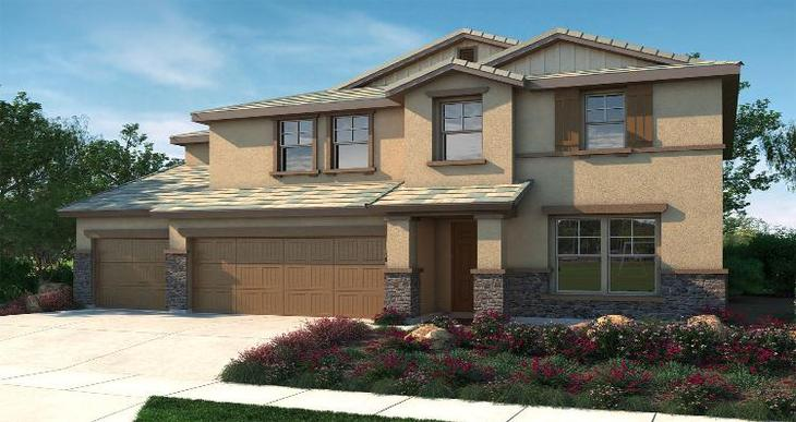 Elevation:Woodside Homes - Alora - Lot 5072