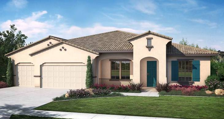 Elevation:Woodside Homes - Andalusia