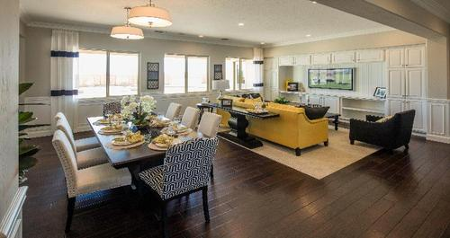 Greatroom-and-Dining-in-Palencia-at-Spanish Oaks-in-Tulare
