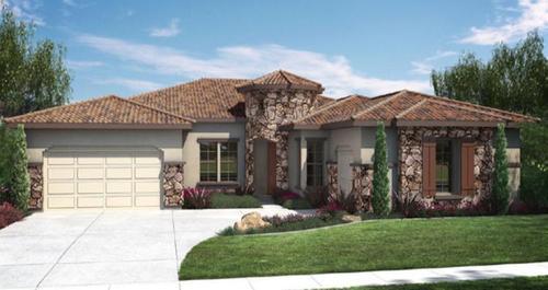 Spanish Oaks By Woodside Homes In Visalia California