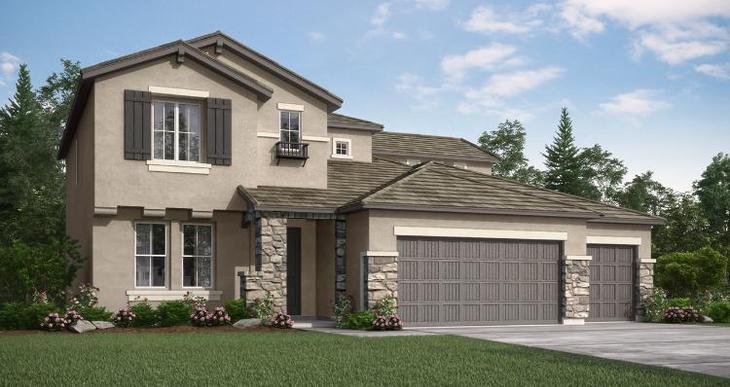 Elevation:Woodside Homes - Pinehurst- Lot 1074