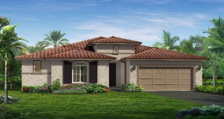 Elevation:Woodside Homes - Sedona