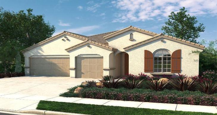 Elevation:Woodside Homes - Graciosa - Lot 5057