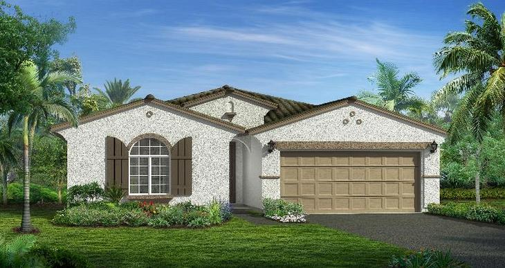 Elevation:Woodside Homes - Somerset - Lot 5026