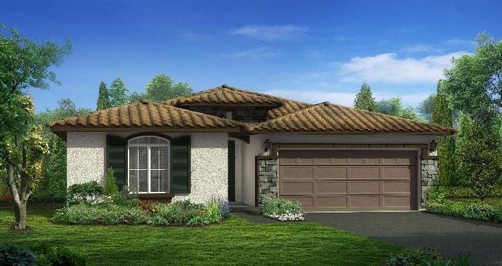 Elevation:Woodside Homes - Somerset - Lot 5029