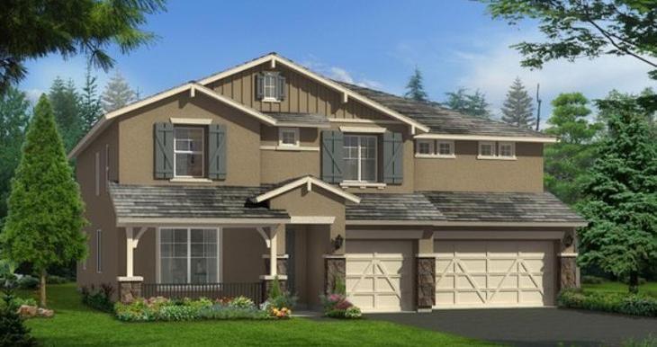 Elevation:Woodside Homes - Shenandoah - 1010