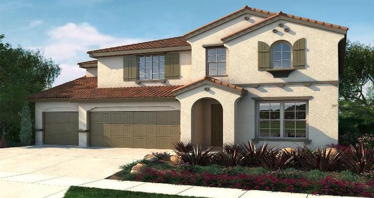 Elevation:Woodside Homes - ALora - Lot 5039