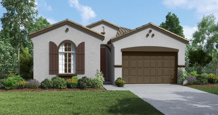 Exterior featured in the Acadia By Woodside Homes in Visalia, CA