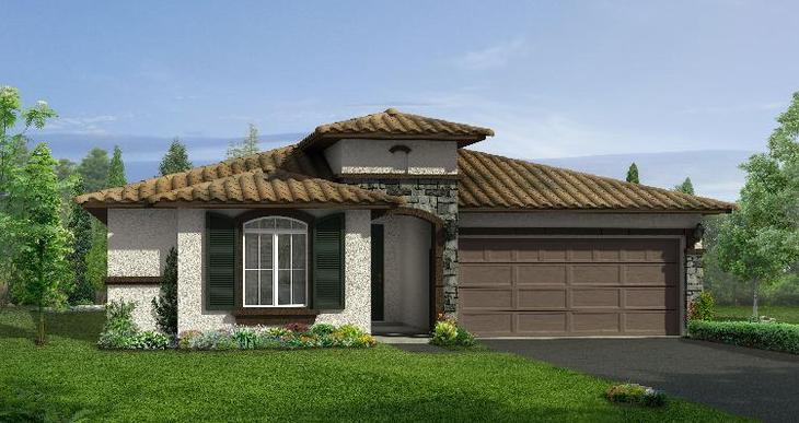 Elevation:Woodside Homes - Newbury - Lot 5020