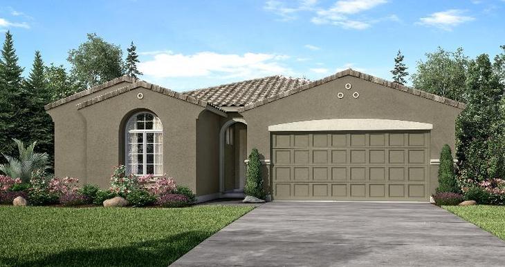 Elevation:Woodside Homes - Sonoma - Lot 1032