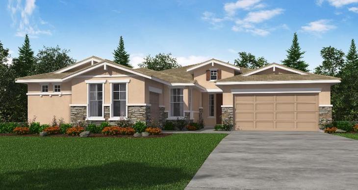 Elevation:Woodside Homes - Clementine - Lot 1037