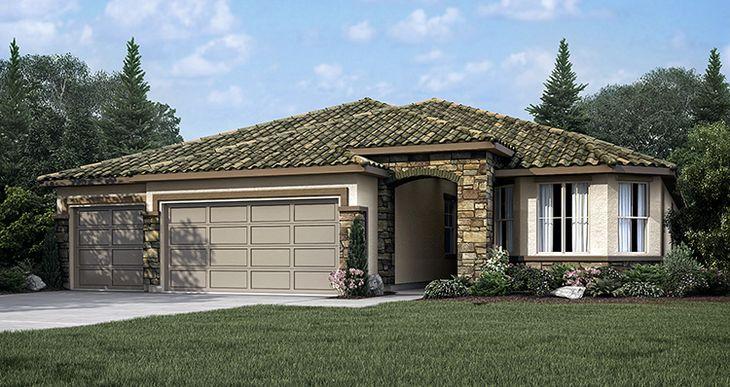 Elevation:Woodside Homes - Ranier