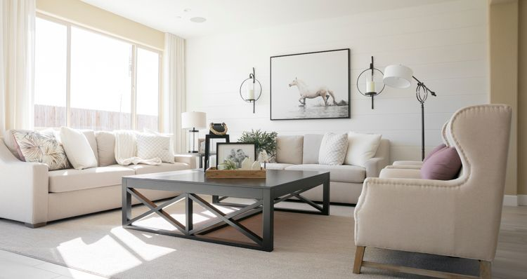 Living Area featured in the Sunflower By Woodside Homes in Visalia, CA