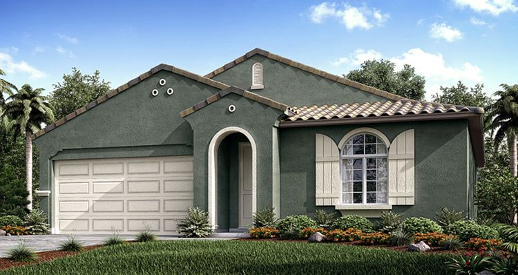 Exterior featured in the Poppy By Woodside Homes in Visalia, CA