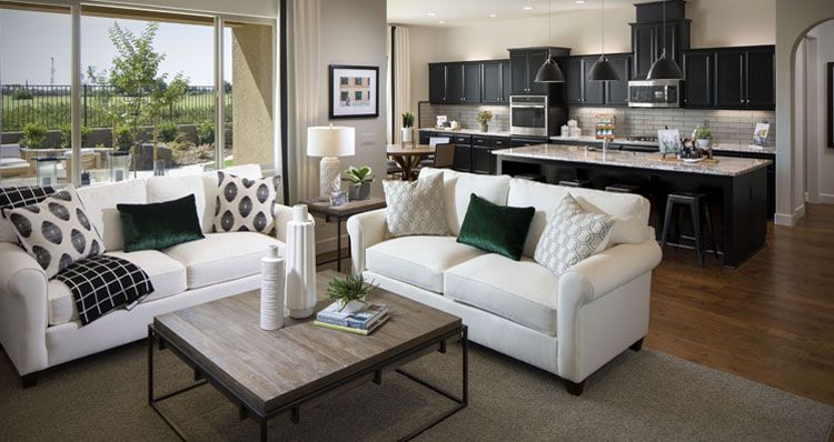 Living Area featured in the Prestwick By Woodside Homes in Visalia, CA