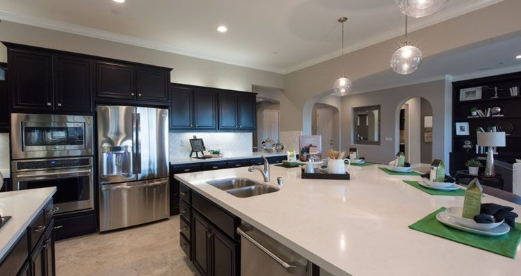Kitchen featured in the Ponderosa By Woodside Homes in Bakersfield, CA