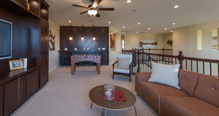 Living Area featured in the Shenandoah By Woodside Homes in Bakersfield, CA
