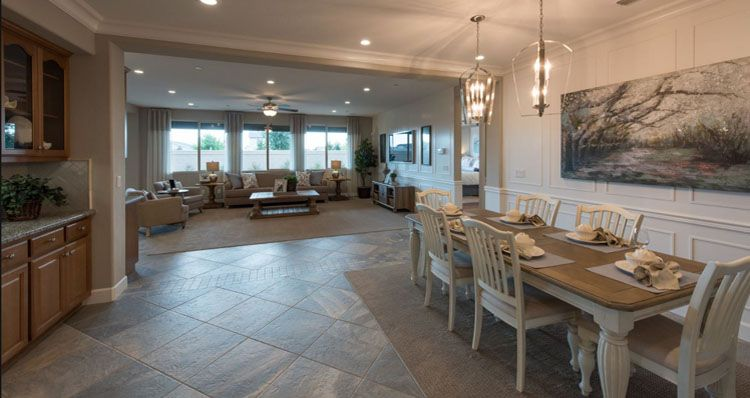 Living Area featured in the Yosemite By Woodside Homes in Visalia, CA