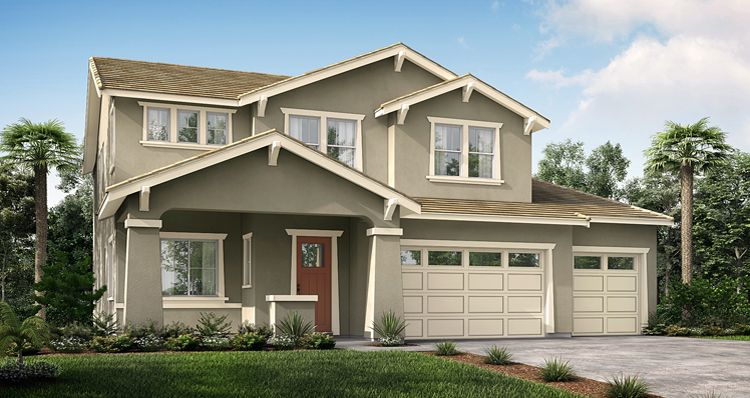 Exterior featured in the Primrose By Woodside Homes in Fresno, CA