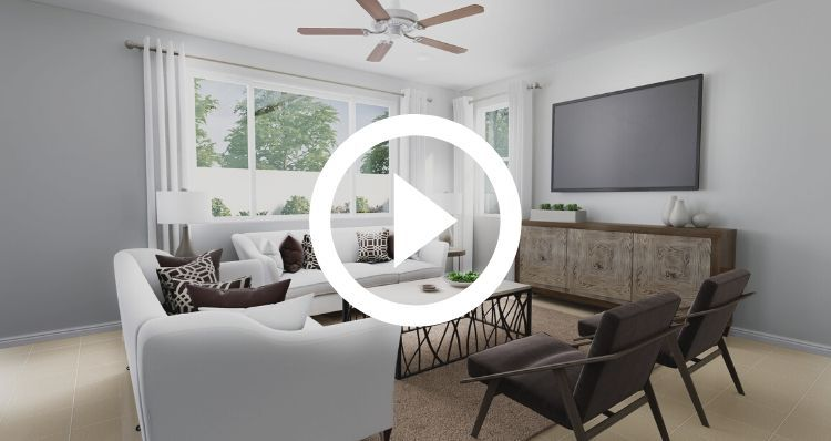 Living Area featured in the Evergreen By Woodside Homes in Bakersfield, CA