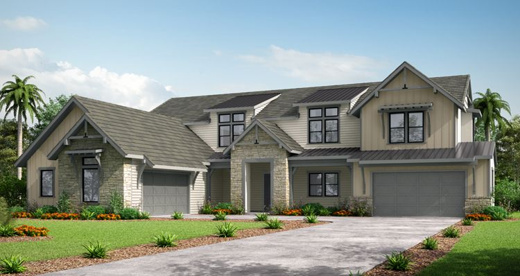 Exterior featured in The Highfield By Woodside Homes in Fresno, CA