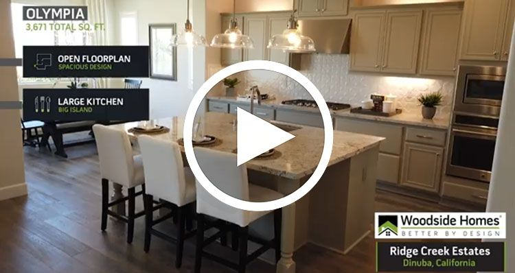 Kitchen featured in the Olympia By Woodside Homes in Visalia, CA