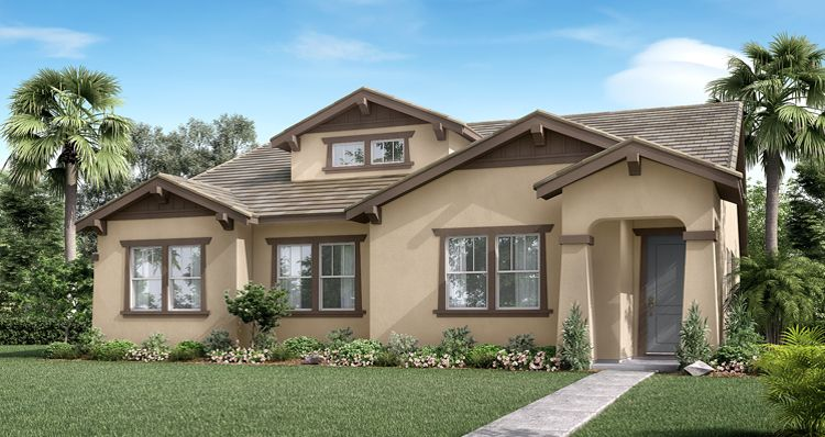 Exterior featured in the Guinevere By Woodside Homes in Fresno, CA
