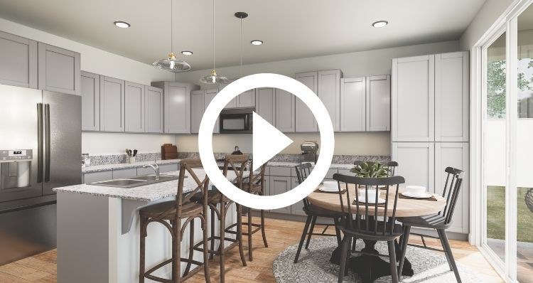Kitchen featured in the Mina By Woodside Homes in Fresno, CA