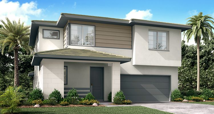 Exterior featured in the Flynn By Woodside Homes in Fresno, CA