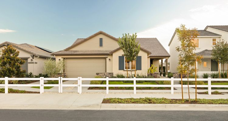Exterior featured in the Birch By Woodside Homes in Bakersfield, CA
