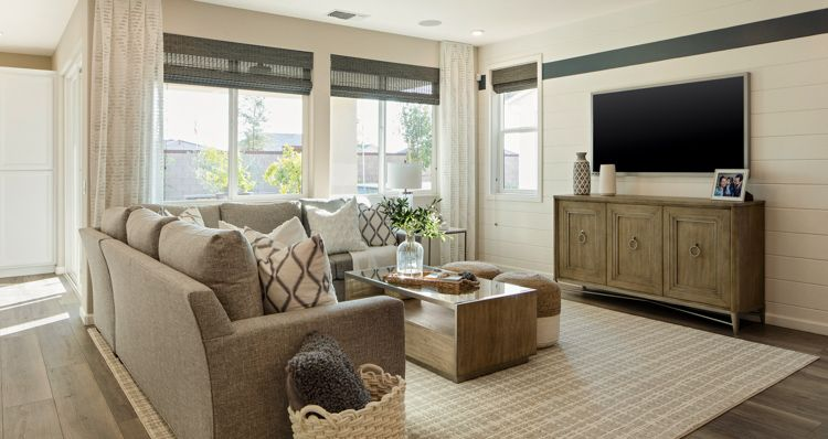 Living Area featured in the Birch By Woodside Homes in Bakersfield, CA