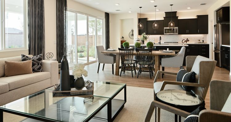 Living Area featured in the Mariposa By Woodside Homes in Bakersfield, CA