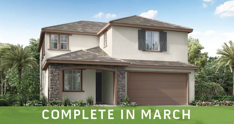 Exterior featured in the Riverbend - Lot 1 By Woodside Homes in Fresno, CA