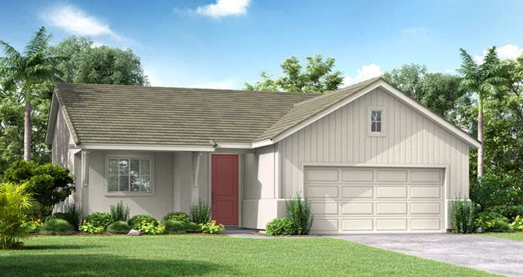 Exterior featured in the Bristol By Woodside Homes in Fresno, CA