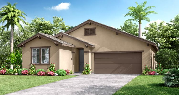 Exterior featured in the Cotswold By Woodside Homes in Fresno, CA