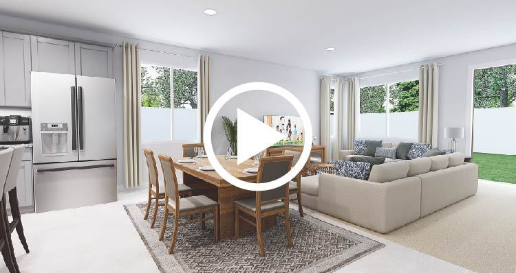 Living Area featured in the Bristol By Woodside Homes in Fresno, CA