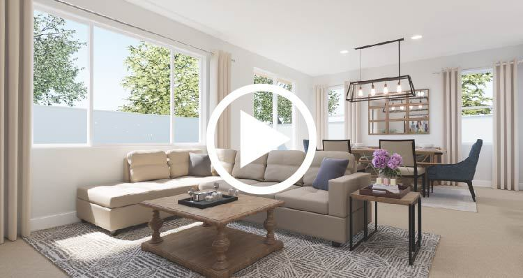 Living Area featured in the Cotswold By Woodside Homes in Fresno, CA