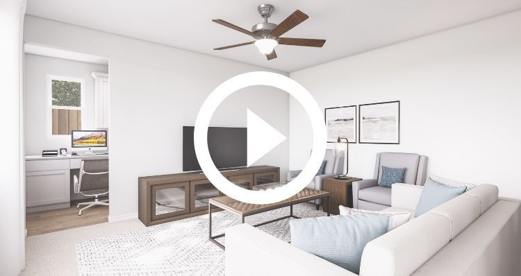 Living Area featured in The Iris By Woodside Homes in Visalia, CA