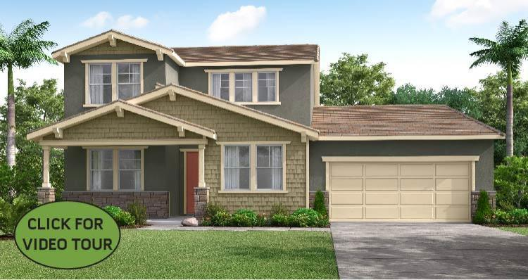 Exterior featured in The Hibiscus By Woodside Homes in Visalia, CA