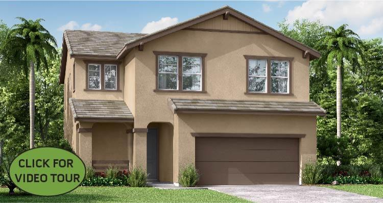 Exterior featured in the Oxford By Woodside Homes in Fresno, CA