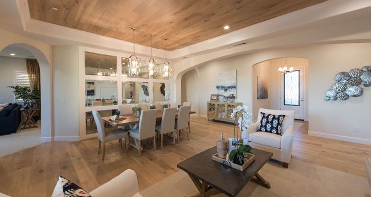 Living Area featured in the Hillsdale - Lot 1 By Woodside Homes in Bakersfield, CA